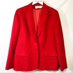 Pendleton Red wool blazer size L